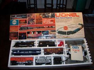 Train électrique Lionel Rock island express