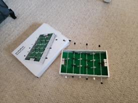 Bordfodbold football game