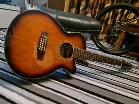 Aston 12 string electro acoustic