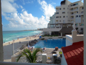 Cancun Sandline-Condo sale Oct,December, January & March