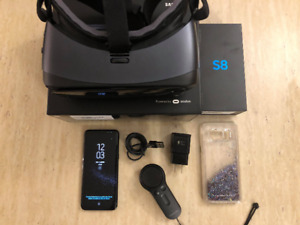 Galaxy S8 et Gear VR