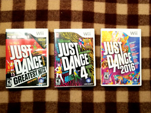 Wii Just Dance Bundle