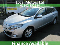 Renault Megane 1.5dCi 106 TomTom Edition Manual Diesel In Silver