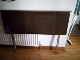 Starplan Brown high gloss double headboard in excellent condition £55