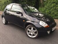 2008 FORD SPORTKA - 1 YEARS MOT - LEATHER - ONLY 68,000 MILES