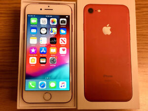 128gb iPhone 7 - Unlocked - Excellent Condition - Red