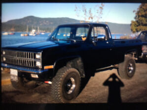 1981 Chev Shortbox 4x4.