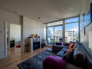 Furnished 2 Bedroom Apartment in Downtown Vancouver
