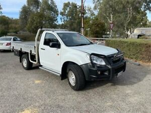 2015 Isuzu D-MAX MY15 SX White 5 Speed Manual Cab Chassis Clare Clare Area Preview
