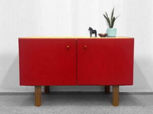 Vintage Record Sideboard / TV Entertainment Unit (Teak Style)