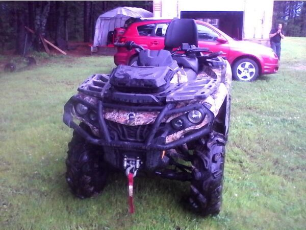 Used 2013 Can-Am outlander max xt camo