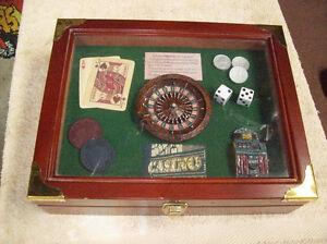 CASINO GAME SHADOW BOX