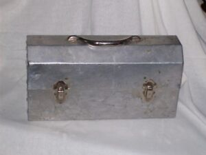 Metal lunch box for sale