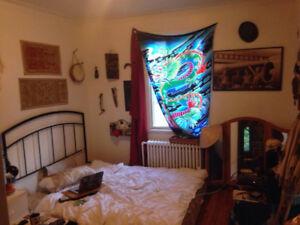 Grande Chambre - Sous Location Aout/Sept - Plateau Mont Royal