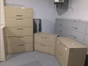 Lateral File Cabinet Set