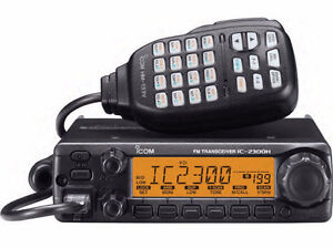 ICOM 2300H VHF 65 Watt High Power Field Programmable Mobile Two