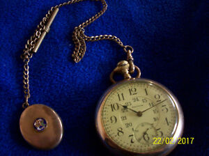 Rare 1892 Waltham Railroad Pocket Watch
