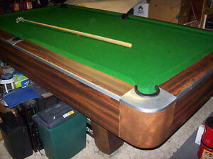 POOL Table ,4x8 ,SLATE  ,3 Piece.Complete.