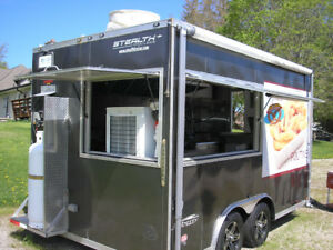 Stealth Food Concession Trailer for sale