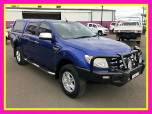 2012 Ford Ranger PX XLT 3.2 (4x4) Blue 6 Speed Automatic Double Cab Pick Up Dubbo Dubbo Area Preview