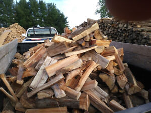 Dry Hardwood firewood for sale $110.00 per face-cord.