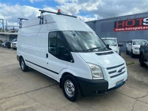 2012 Ford Transit VM MY13 350 High Roof LWB White 6 Speed Manual Van Granville Parramatta Area Preview