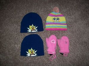 Kids Toques And Mitts