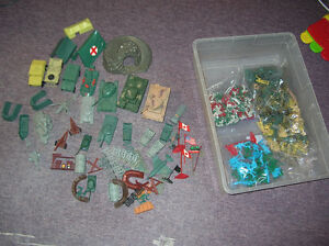 Army Toys Figures and vehicles Huge Lot Mix