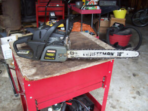 GAS POWER CHAIN SAW