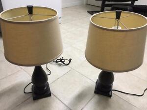 Lampes de chevet (2)