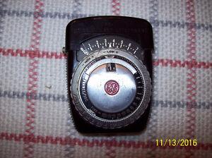 Vintage General Electric Exposure Meter and Koniflash III Flash Stratford Kitchener Area image 2