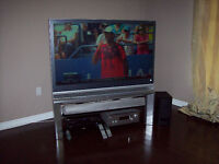 "SONY GRAND WEGA 55"" LCD PROJECTION TV"