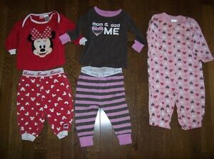 Girls Sleepers, Size - 6-12 months