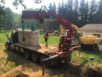 SEPTIC TANKS, HOLDING TANKS, WATER CISTERNS