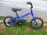 BOY'S 14 INCH RALEIGH AND HOT WHEEL SINGLE SPEED BIKES