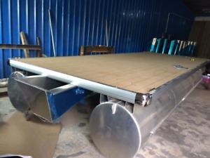 Pontoon Boat Kits and Decks