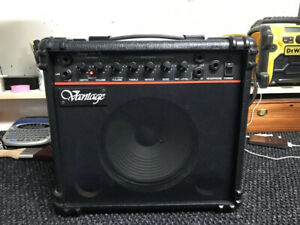 Vantage 80's Made In Korea Guitar or PA/Microphone Amp!