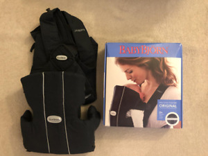 Baby Bjorn Original Black Carrier