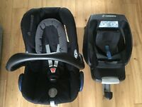 Maxi Cosi Cabriofix and easy base 2
