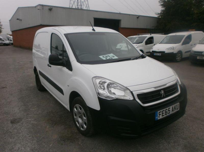Peugeot Partner L1 625 1.6 Hdi 92 Professional Van DIESEL MANUAL WHITE (2015)
