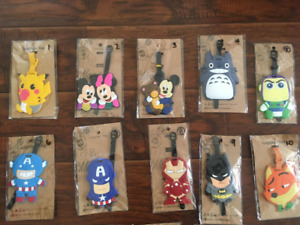 NEW 3D Luggage Tags