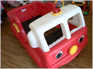 Step 2 Toddler Firetruck Bed!