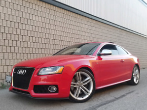 Audi S5 - LOW KMS, Manual, Fully Loaded!