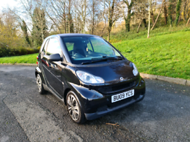 2009 smart fourtwo semi automatic 64k miles