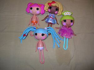Lalaloopsy Full Size 12 inch Doll Lot of 4