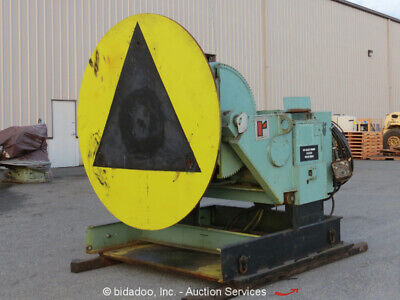 10000 Lbs Ransome Model 100 Welding Positioner Yoder 69717