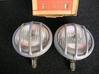 BOSCH GUARDS FOG LIGHTS LAMP RALLYE VINTAGE CAR AUTO RALLY NOS