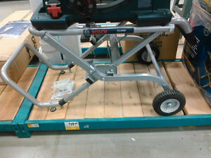 brand new Gravity-Rise™ Wheeled Stand for Bosch table saw London Ontario image 1