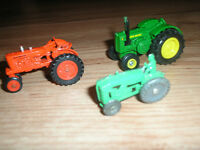 VINTAGE LOT OF 3 TOY TRACTORS