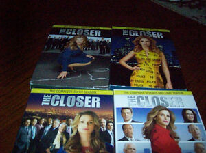 "4 DVD""S OF THE CLOSER"
